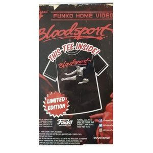 VHS Packaged Tee: BloodSport (VHS not included)